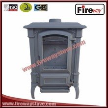Italian style 15 kw SCHOTT GLASS cast iron wood burning stove for sell