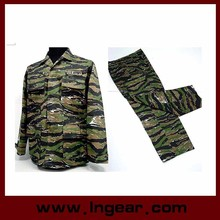 military Uniform tactical suit for sales Camouflage for Tiger Stripe Camo
