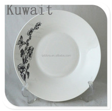 ceramic bulk plate for Kuwait, new design dish of eating , Environmental protection