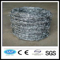 wholesale China CE&ISO certificated cheap barbed wire(pro manufacturer)