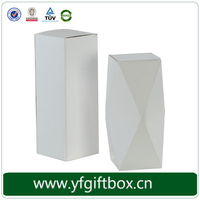 Yifeng Small Unique Design Luxury White Cardboard Paper Wine Packaging Gift Box