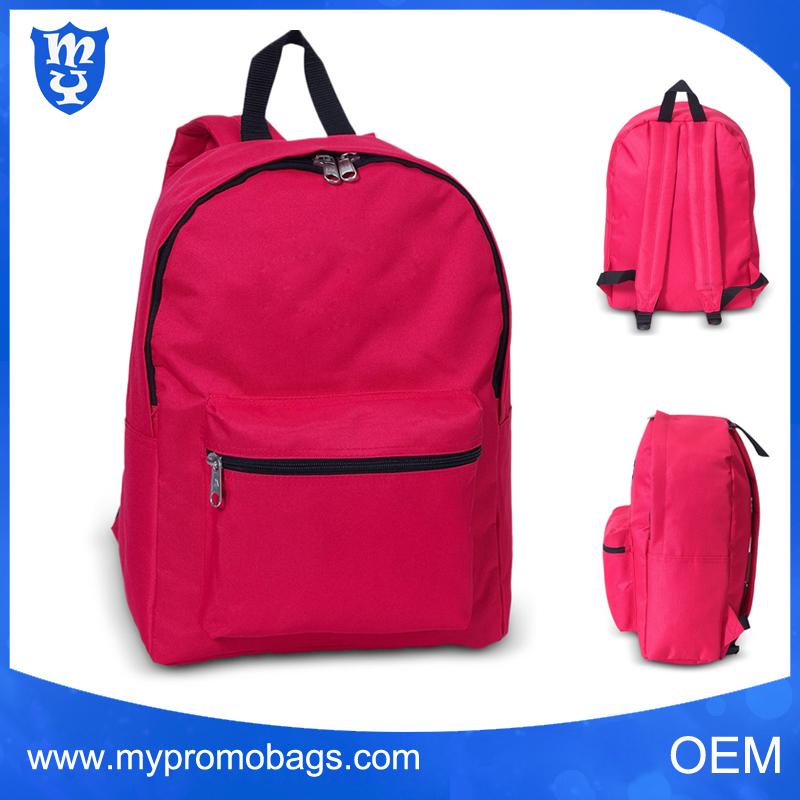 Régulière mi-taille léger école sac à dos personnalisé classique loisirs sac à dos pour l'école
