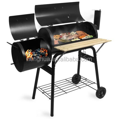 High Quality Thermometer Smoker Vertical Bbq Grill