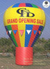 Outdoor using custom 8mH advertising inflatable hot air balloon for sale
