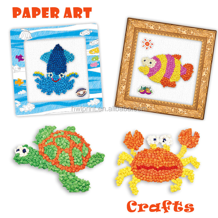 Wholesale best gifts diy crafts for kids paper toy tissue for Craft picture frames bulk