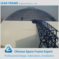China Product Steel Space Frame Metal Dome for Coal Shed