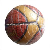 New Style Basktballs imitated pu leather