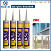 acrylic chemical sealant 100%flexible,gap filler,super quality,good price