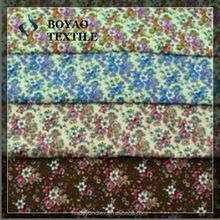 100% cotton cambric canvas printing fabric for bed sheeting