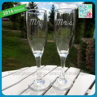 No lead crystal coupe champagne glasses goblets wedding champagne glass cups wine glasses