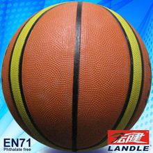 leather and rubber bladder official weight basketball
