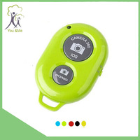 2015 Retailing packing colorful wireless bluetooth remote shutter