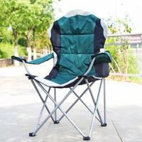Folding Camping Chair with Aluminum Armrest, Garden Chair