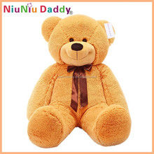 2015 new wholesale custom mini giant bear animals plush toy
