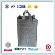 Fashion and good quality single color felt laundry bag
