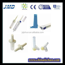 medical disposable infusion set components, clamps, drip chamber,luer lock/luer slip