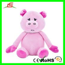 E418 Sleep Animal Stuffed Squeaky Small Pet Plush Toys