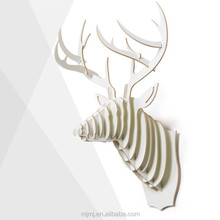 Creative wood Home Decor , deer head wall decorations