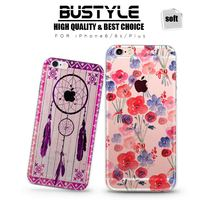 Wholesale High Quality Soft TPU Mobile Phone Case For Apple iPhone 4 5s 5c 6 6s plus Shell Case