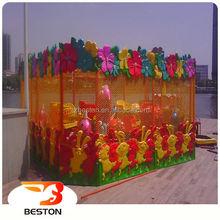 Funny theme park amusement kiddie rides joy spray ball car
