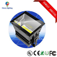 new model ip65 water proof die cast 1000w XTE led flood light with rubber cable and tempered glass