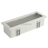 Industrial Red Indicator Recessed Fluorescent Emergency Light