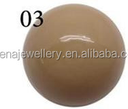 Dongguan Changda Factory Price High Quality Brown Chime Ball for Harmony Bola Ball Pendant Wholesale C03