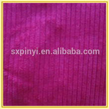 solid dyed 19W 97%C3%SP elastic corduroy (stock fabric china)