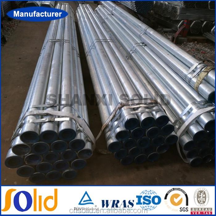 Welded schedule 80 pre galvanized steel pipe manufacturer (1).jpg