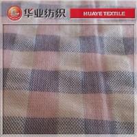 yarn dyed cotton check seersucker fabrics for girl dress