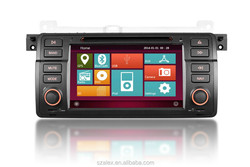 AL-9201 HD 800*480 Touch Screen 7'' 2 Din Car Radio for BMW E46 Factory