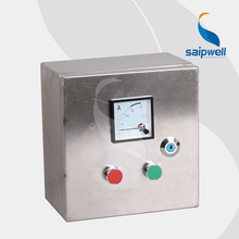 Saip Saipwell Made in China Waterproof Control Box Hot Sale Project Push Botton Box Electrical Control Box Stainless Steel