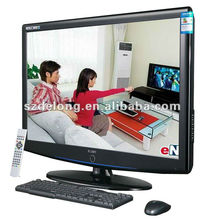 Cheap DL 32'' LED Panel IR multi Touch Fast Response Time All In One Computer Desktop PC With HDMI/VGA/AV/TV Input