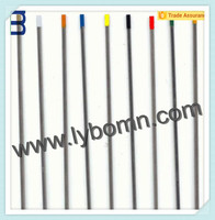 Supply Wolfram material WT20, WL20, WL15, WP welding Re-Ground Tungsten Electrodes
