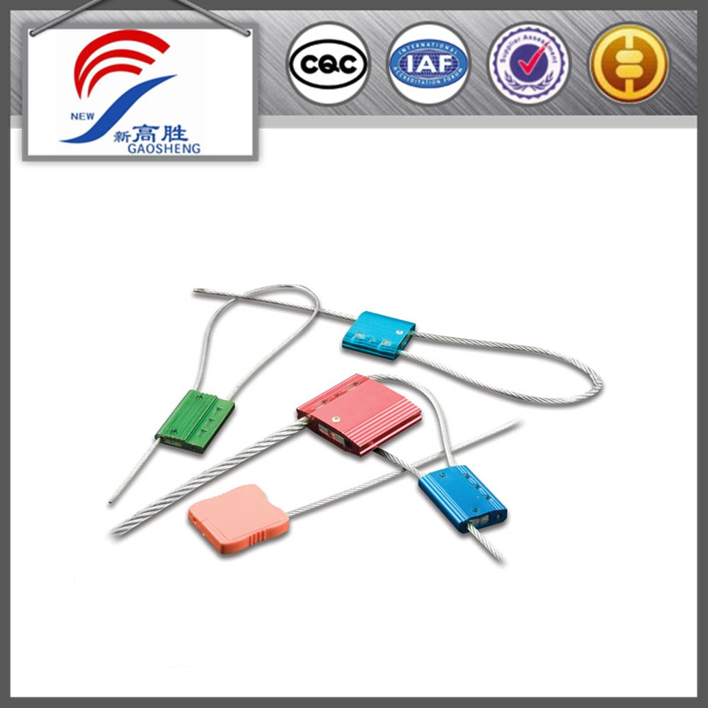 High Quality Security Wire Cable Seal Locks Steel Cable Lock - Buy ...