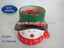 Christmas Candle Warmer in UL-Approval/Tart Warmer