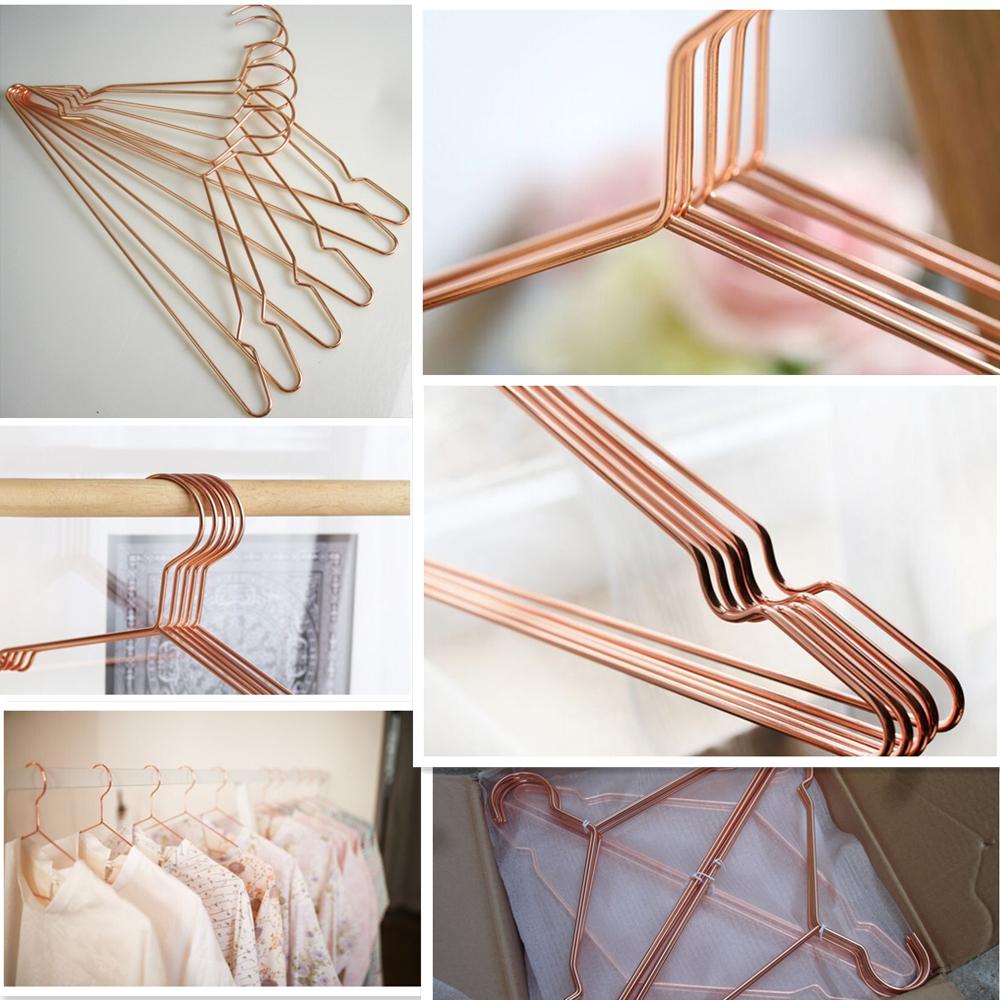 delicado cabide camisa cabide de roupas cabide de arame de metal de cobre cabides e varais id do. Black Bedroom Furniture Sets. Home Design Ideas