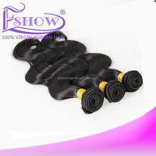 2014 Hot Selling! Brazilian Virgin Human Hair Body Wave 3 three tone 1b #4 #27 Ombre Hair Extensions Remy Hair Weave