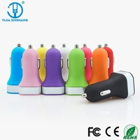 Universal LED Light Cargador Adapter 2 Double Dual USB Car Charger For iPhone 5 5C 5S For iPad 2 3 4 Samsung Galaxy S4 S5 HTC