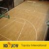 Indoor basketball court PVC wood flooring