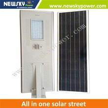 solar street lamp all in one High quality solar lights 50 watts solar street lights