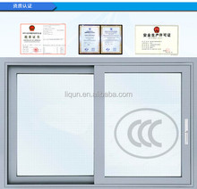 2015 factory price house used PVC sliding windows in china