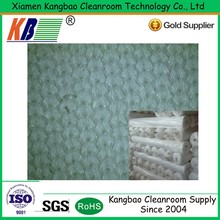 Cleanroom Microfiber Cloth Fabric Material for clean room sealing wiper 130 -240gsm