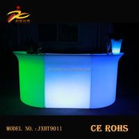 Straight and corner portable led bar counter/ Light up LED bar table/illuminated Led Bar Chair