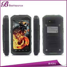 Oem Rugged Phone with NFC GPS WIFI Rugged Mobile Phone IP68 android 4.3inch small Rugged Phone