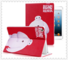 For iPad mini 1/2/3 case Cute Cartoon pattern of PU material case for ipadmini