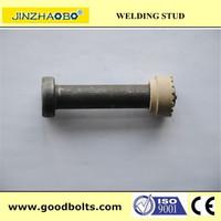 ISO 13918 ANSI/AWSD1 connector bolt / shear stud / welding stud fastenal catalog( CE certificate )