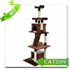 New products indoor cat tree house cardboard cat tree /wooden cat toys