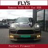 Haman body kit for porsch-e cayenn-e 958 2011-2014 year. Fiber glass and carbon fiber material