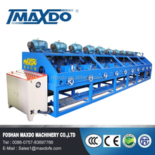Easy operate & high speed Stainless steel metal pipe polishing&buffing machine